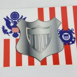 maritime enforcement specialist uscg sticker - coast guard