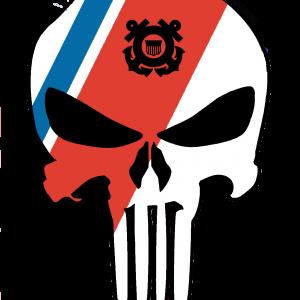 Punisher with Racing Stripe 2 coast guard