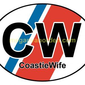 coastiewife - sticker- uscg- coast guard - website