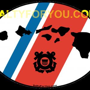 uscg coast guard Hawaii OVAL - with proper uscg colors v2 website cgc midget cgc kimball Honolulu MSST