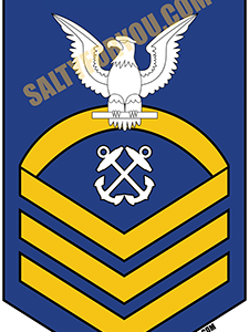 BM Boatswain Mate e7 chief-bravo-coast_guard_enlisted uscg sticker - website