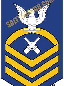GM Gunners Mate e7 chief-bravo-coast_guard_enlisted uscg sticker - website
