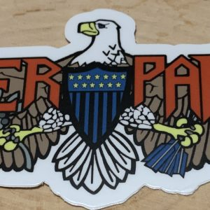 Majestic Eagle WEBSITE USCG Sticker Coast Guard Coastie