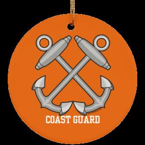 Boatswain Mate USCG Christmas Ornament Coastie Coast Guard BM