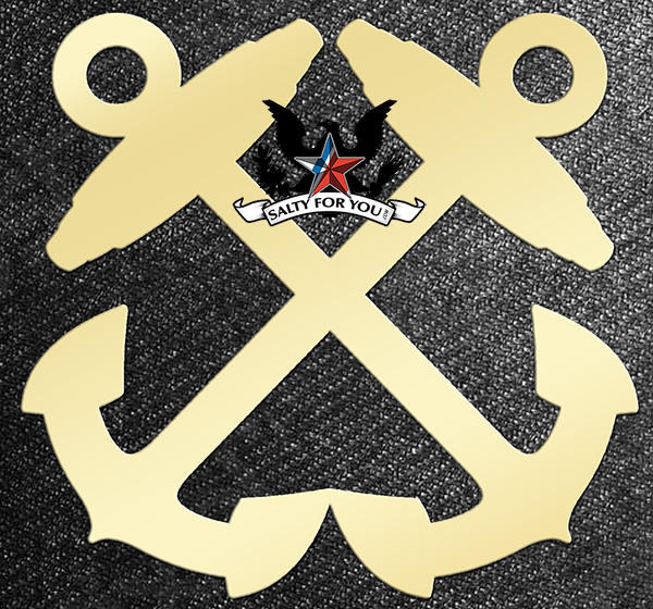 boatswainmate all brass rating symbol bm coast guard uscg navy rate symbol logo